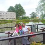With my watoto Amani & Malaika