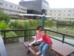 My kids, Amani & Malaika