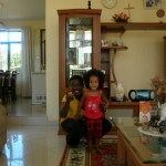 With Aunt Judy Dar 2009