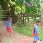 Es-ta-te Camp resort Khao Kheow Zoo with my bother Amani