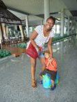 With Amani at Krabi Airport