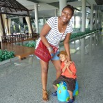With Amani at Krabi Airport