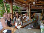 With family hubby, Hayley, Skye, Malaika and Amani