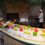 U can find this BBQ setting in the evening at some hotel in Railay