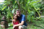 Malaika with daddy