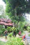 Amani & Malaika love this garden