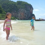 Amani & Malaika at Phra Nang Beach