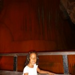 Malaika inside the Railay Cave