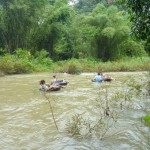 Tubing around Sok River
