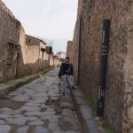 Hubby inside Pompeii