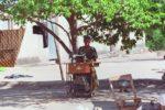 Mume wangu alimfurahia sana huyu mama, on the way to Musoma 2003