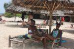 Tina & Flora at Bongoyo Island