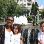 With my mama & Amani in Madrid