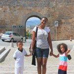 In Madrid with mama & Amani