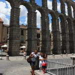 We had a great time in Segovia, Spain