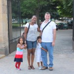 With my family going to visit a real castle, Segovia Spain