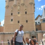 Mbele ya castle in Segovia, Spain