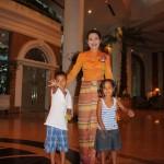 Tukiwa na mfanyakazi wa hotelini, Bangkok