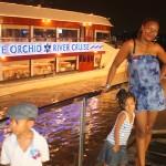 After Cruise dinner in Bangkok