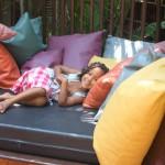 Having a rest. Sawasdee Resort, Phuket