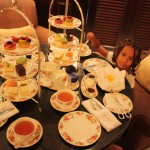 Having Afternoon Tea) at Lebua Hotel