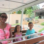On Courtesy Bus from hotel to Life Park