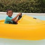 Amani having fun at life park