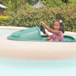 Malaika having fun at Life Park