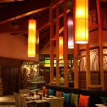 One of the hotel restaurant