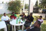Linda's farewell party at Uncle Gondwe & Aunt Sarah place