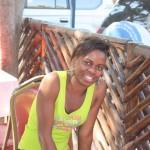 Flora akiwa Calman Cafe Dodoma