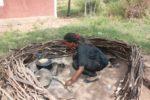 Mrembo Tina akiwa kijijini Burere, Aug. 2011