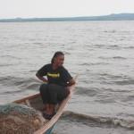 Tina akiwa Lake Victoria