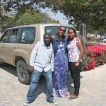 Nikiwa na kaka Hassan na mdogo Tina, Dodoma