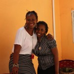 With my old friend Blandina tangu tukiwa 11yrs old