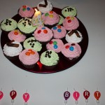 My birthday Ice Cream cup cakes, yummy!