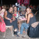 With Kay & mdogo wangu Tina. Salsa night at Golden Tulip Hotel