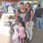 With Malaika & Flora, Airport tukiwa ndio tumewasili