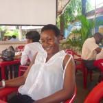 Mdogo wangu Tina, Check point posta for lunch