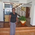 Nilikwenda msalimia rafiki Christina ofisini kwake pale Masaki