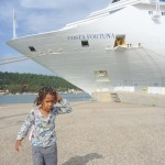 Our Cruise Ship, tumetia nanga Greece