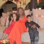 With my mummy & Amani siku ya Xmas day