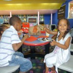 At my brother Amani birthday party