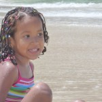 At the beach in Krabi