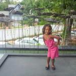 Malaika at the hotel lobby