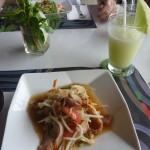 Lunch time yummy! Green Papaya Salad
