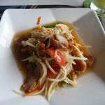 Green Papaya Salad, one of my favourite