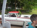 Vintage car around the hotel. Kaka Hassan unaona mambo hayo?