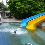 And here she comes, splash! My Malaika