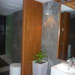 Lobby toilets
